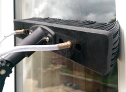 water fed pole window cleaning brush