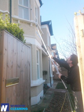 Advanced Window Cleaning in The Hyde NW9